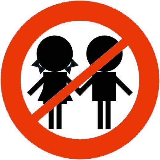 divieto accesso bambini