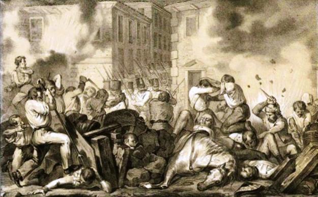 Perrin_F_Rivolta_di_Brescia_litografia_1851